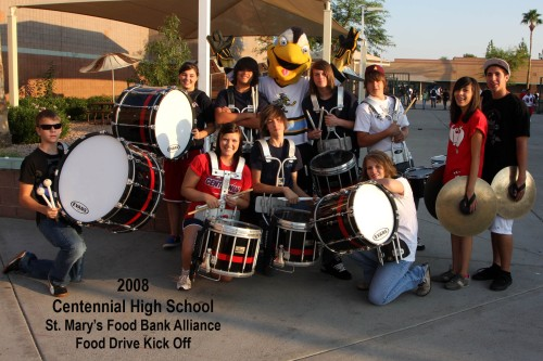 Centennial High School Drum Line